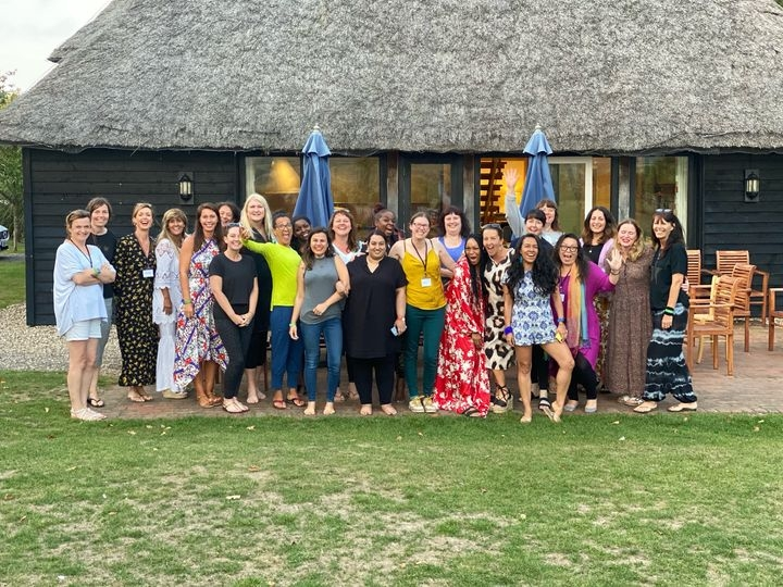 All the wonderful women who were with me on The One Retreat